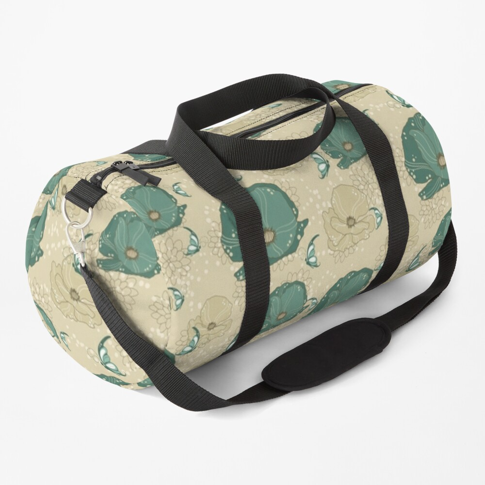 Print with refinement Duffle Bag