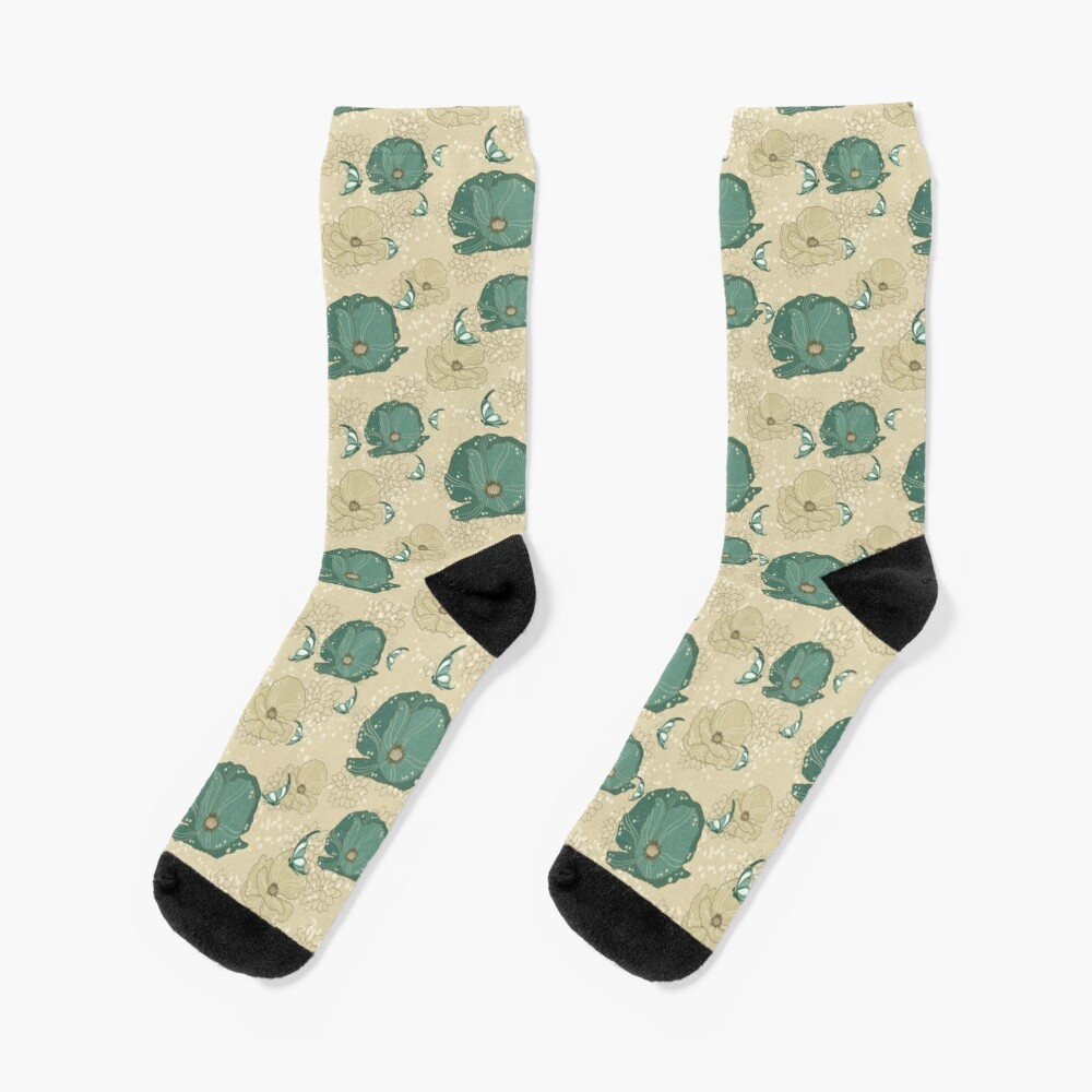 Print with refinement Socks