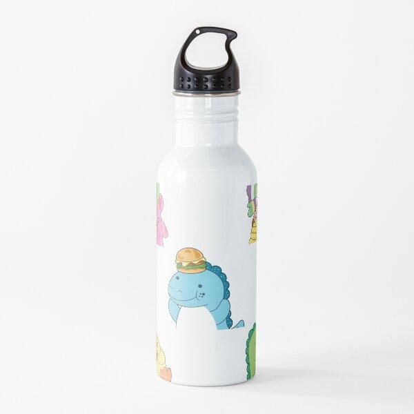 Moriah Elizabeth pickle the dinosaur sticker pack Water Bottle