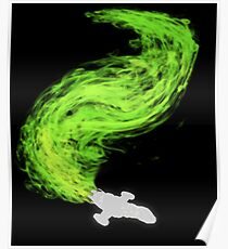 Firefly in Flight Poster