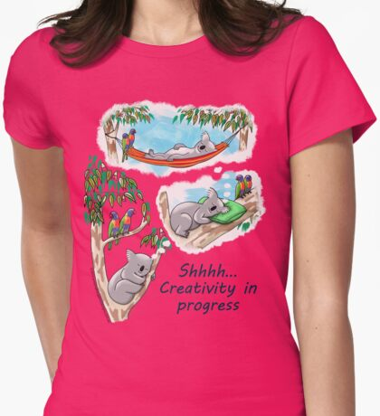 Koala dreams - Shhh… Creativity in progress T-Shirt