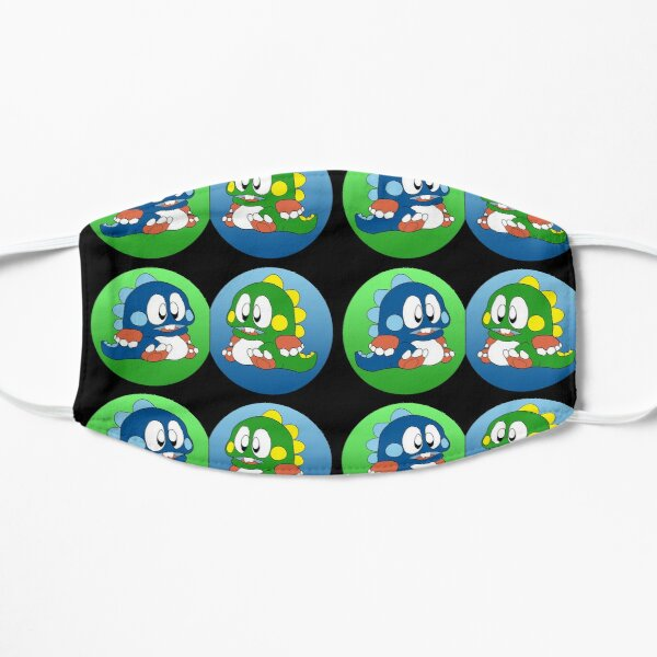 Bubble Bobble Flat Mask