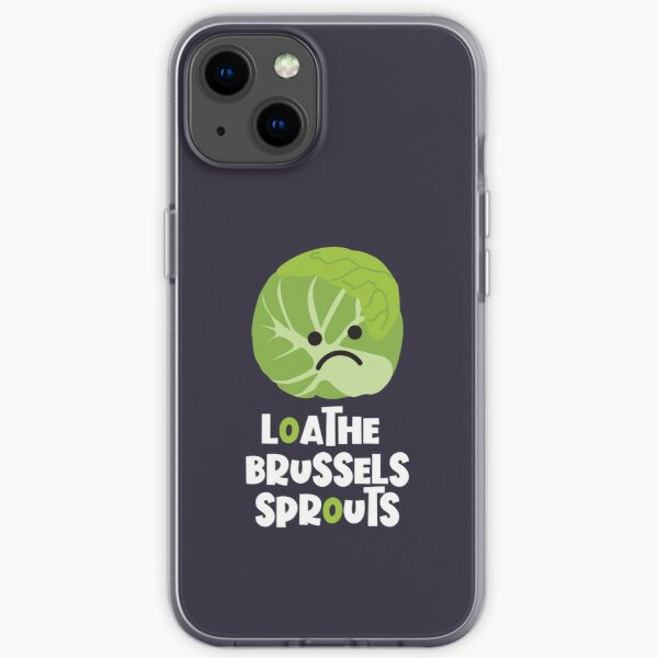 Loathe Brussels Sprouts iPhone Soft Case