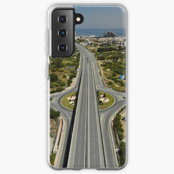 Highway Lockdown - Germasogeia Samsung Galaxy Soft Case