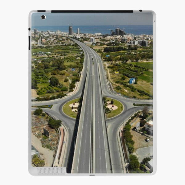 Highway Lockdown - Germasogeia iPad Skin