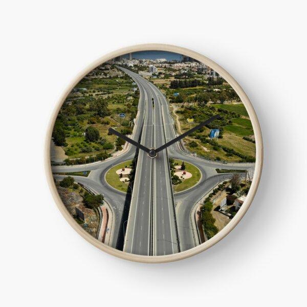 Highway Lockdown - Germasogeia Clock