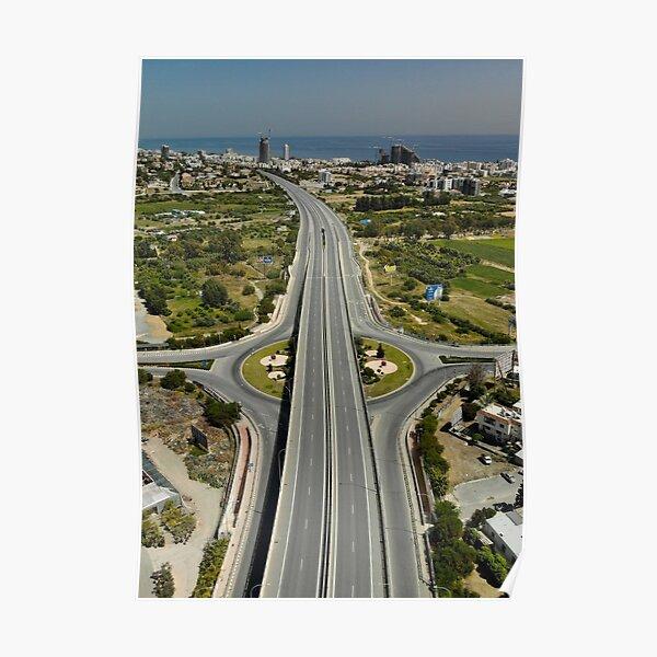 Highway Lockdown - Germasogeia Poster