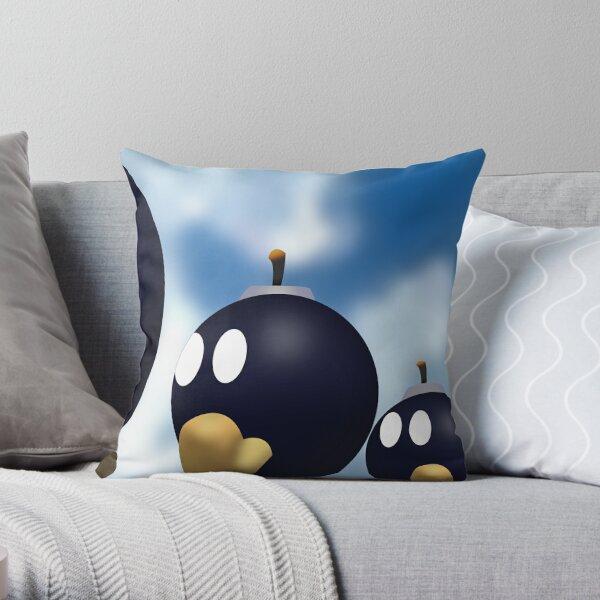 Bob-omb Battlefield Throw Pillow