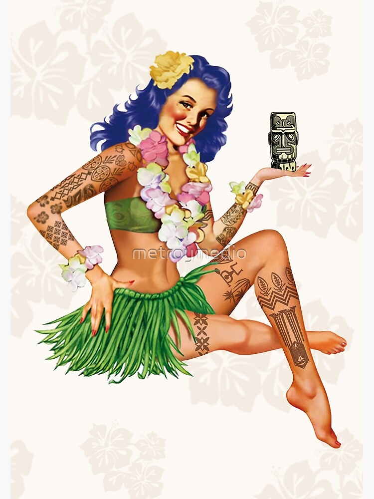 Hawaiian Pin-up by metroymedio