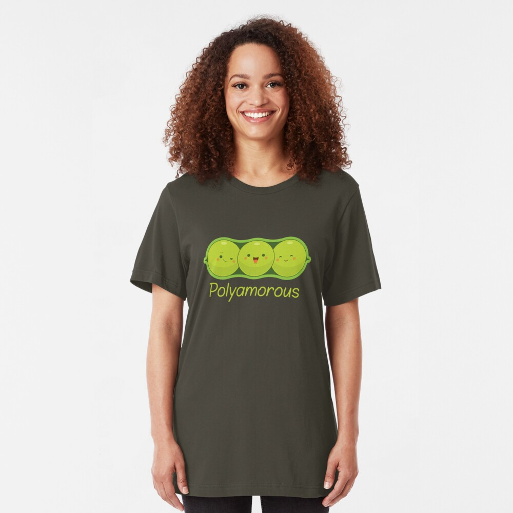 Poly Peas Slim Fit T-Shirt