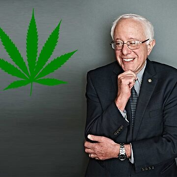 Bernie Sanders Supports Weed by FinesseApparel