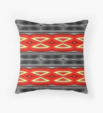 Hot sophisticate. Throw Pillow