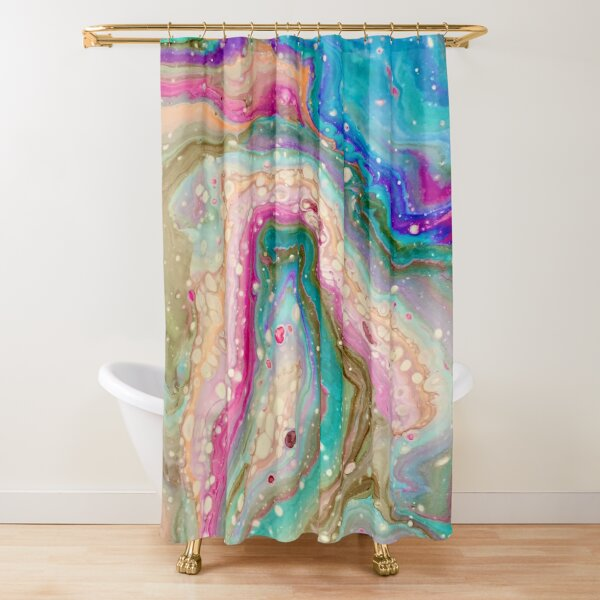 Layers of joy Shower Curtain