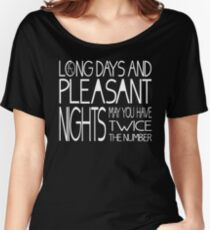 Mid-World Greeting Women's Relaxed Fit T-Shirt