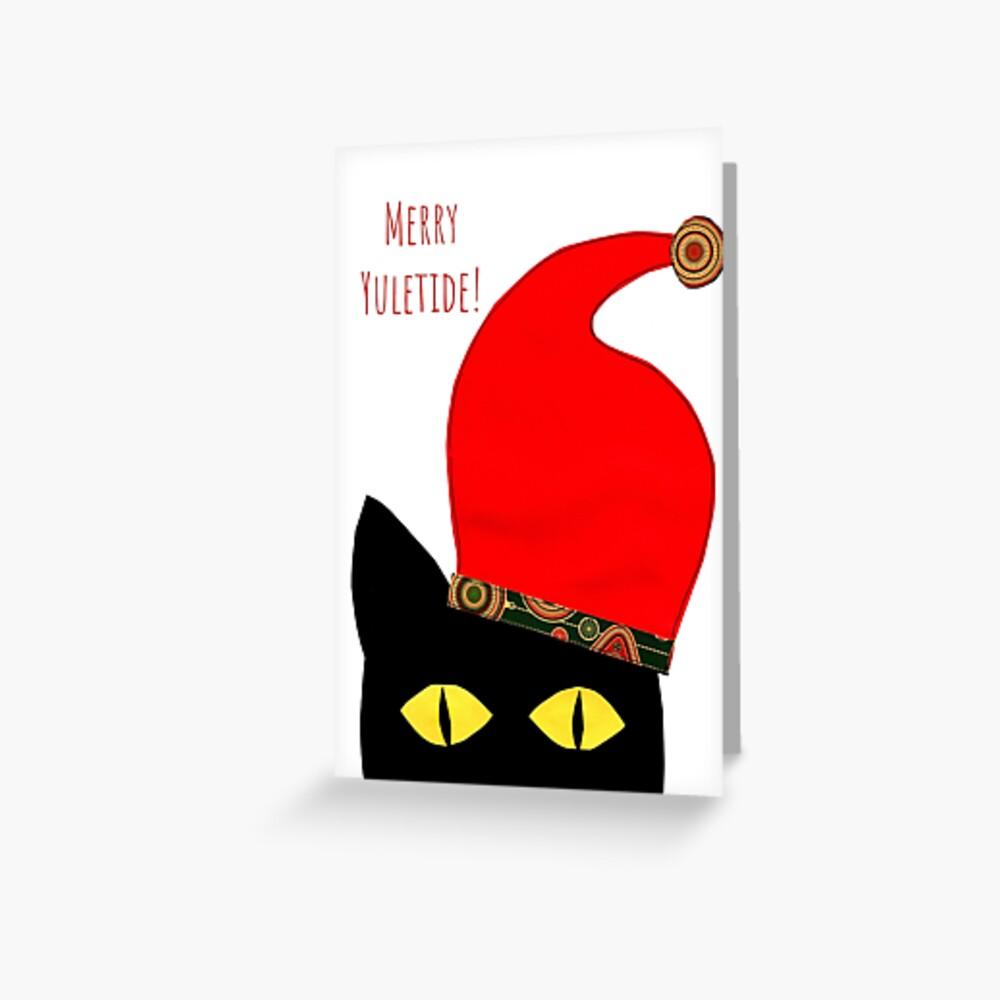 Merry Yuletide! Greeting Card