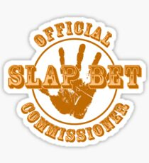 HIMYM - Slap Bet Commissioner Sticker