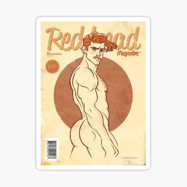 Redhead - Print Sticker