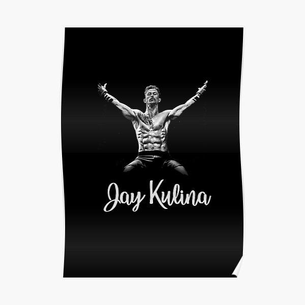 Kingdom Navy St. Jay Kulina Monochrome Tshirts etc Poster