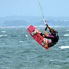 Kite Surfer by Loreto Bautista Jr.