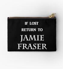 If Lost Return to Jamie Fraser  Studio Pouch