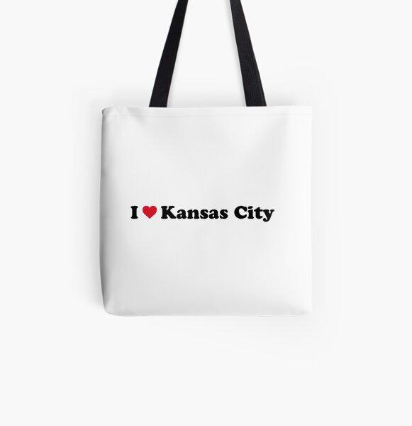 I Love Kansas City All Over Print Tote Bag