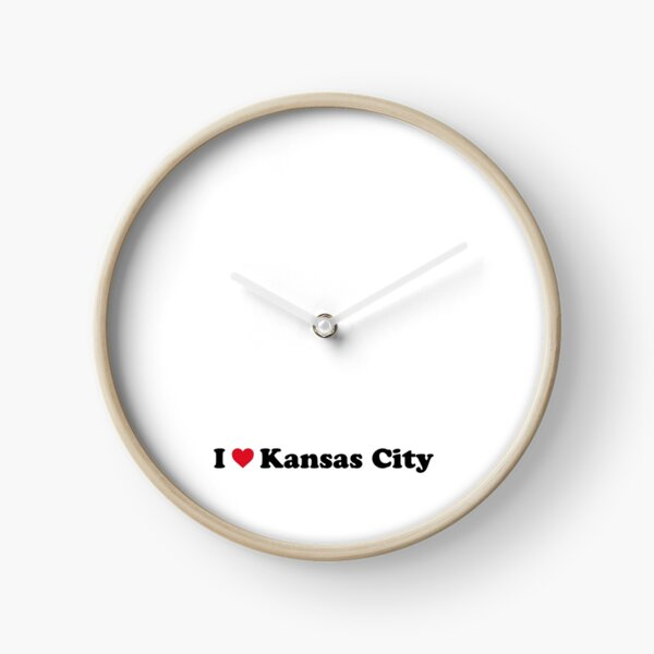 I Love Kansas City Clock