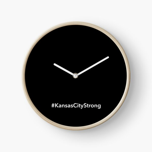 Kansas City Strong Clock