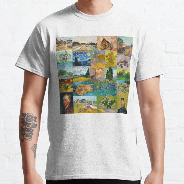 Collage de Van Gogh T-shirt classique
