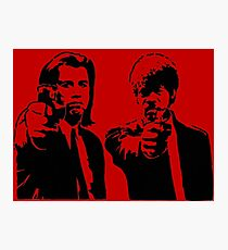 Pulp Fiction - Vincent and Jules Photographic Print