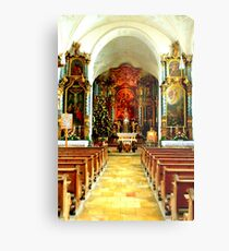 Pilgrimage church of St. Mary's Ascension Metal Print