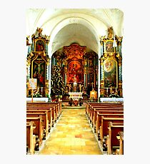 Pilgrimage church of St. Mary's Ascension Photographic Print