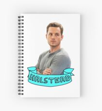 Jay Halstead Spiral Notebook