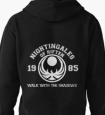 Nightingales of riften - black Pullover Hoodie