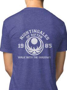 Nightingales of riften - black Tri-blend T-Shirt