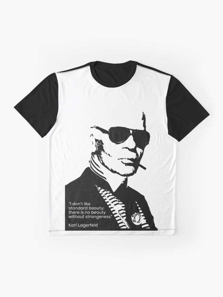 Vista alternativa de Camiseta gráfica Karl Lagerfeld