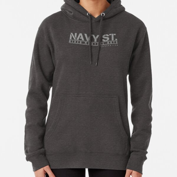 Kingdom Navy St. Silver Logo Tshirts etc Pullover Hoodie