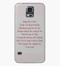 Avicii-Waiting for love  Case/Skin for Samsung Galaxy