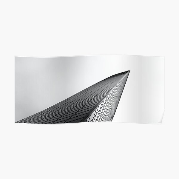 chome, tokyo, modern architecture Poster