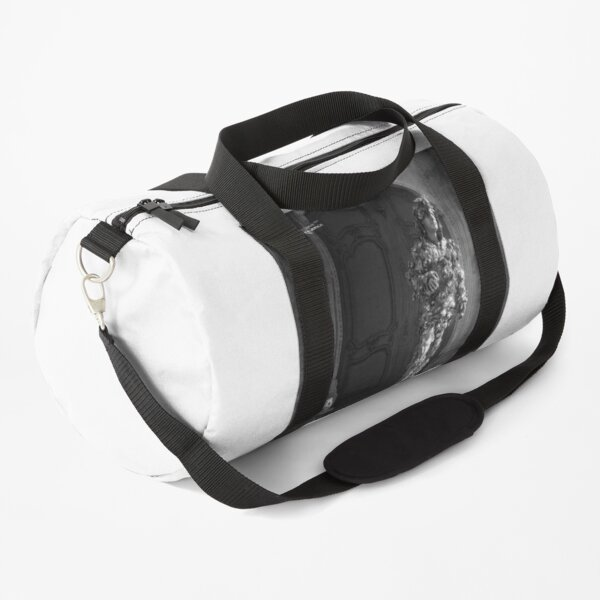 The Silver Vagabond and the Lonely Girl  Duffle Bag