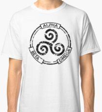 Alpha Beta Omega (Black) - Teen Wolf Classic T-Shirt