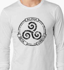 Alpha Beta Omega (Black) - Teen Wolf T-Shirt