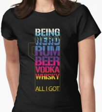 NERD COCKTAIL Women's Fitted T-Shirt