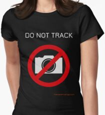 Do not track Women's Fitted T-Shirt