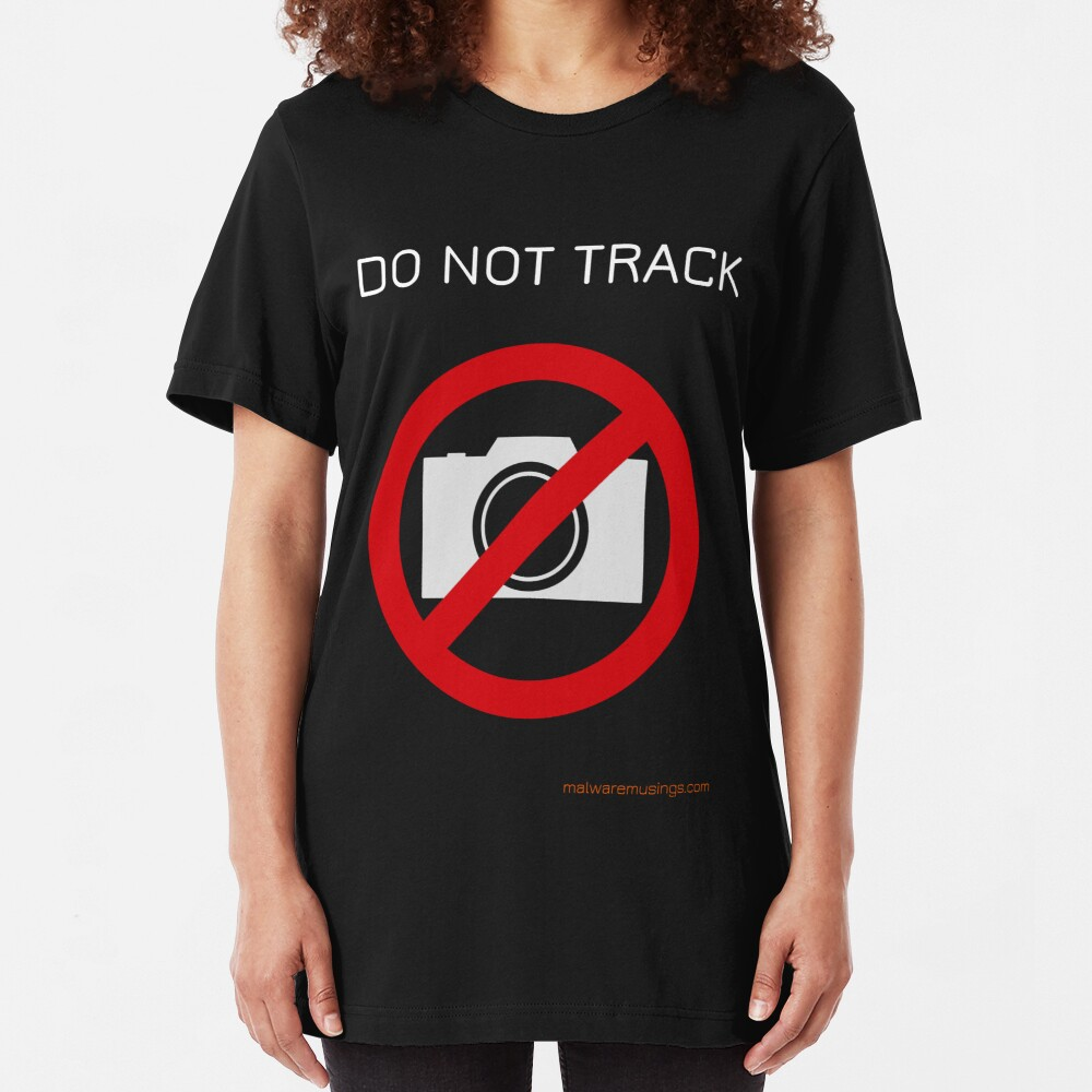 Do not track Slim Fit T-Shirt