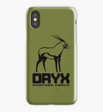 ORYX Warfare Group Dark iPhone Case/Skin