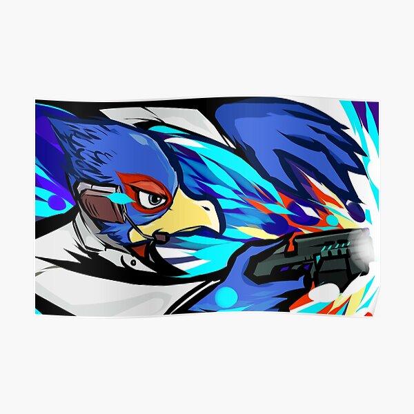 Falco   Blaster Shot Poster