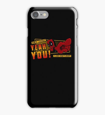 Crimson Complimenter iPhone Case/Skin