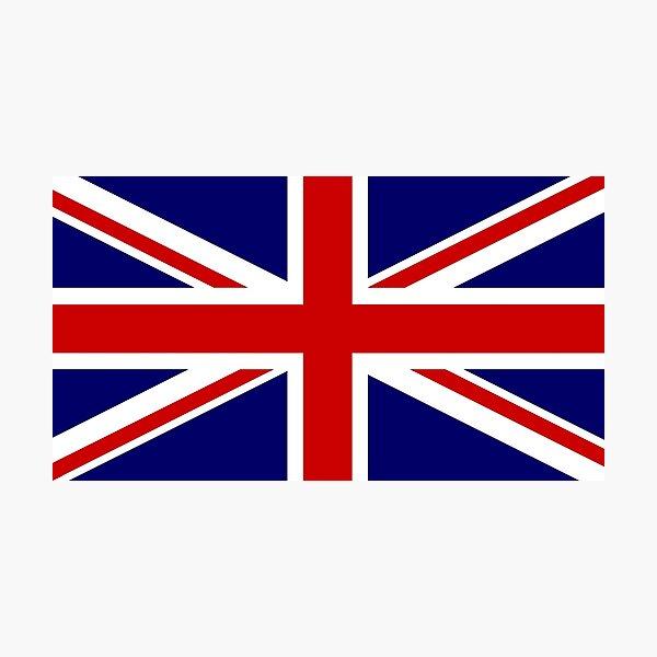 Union Flag | Union Jack | United Kingdom Photographic Print