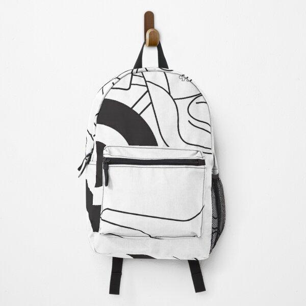 Quad bike. Backpack
