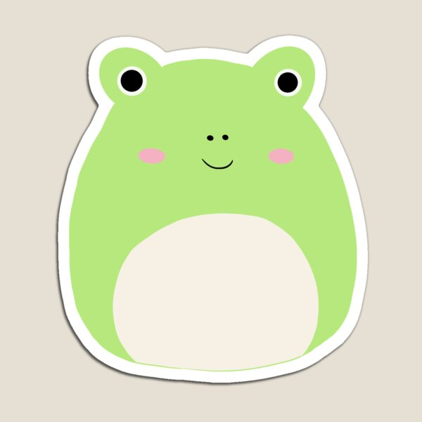 Wendy the Frog Squishmallow Magnet